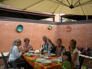 Italian language homestay in Bologna
